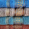 Махровое лицевое полотенце Версаче