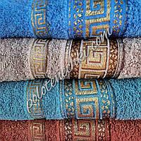Махровое лицевое полотенце Версаче, фото 1