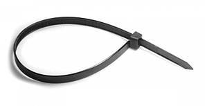 Хомут нейлоновий чорний 2,5х100 (100 шт)