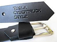 Шкіряний ремінь Tesla Cybertruk Style/ Стиль Тесла Кибертрак, фото 1