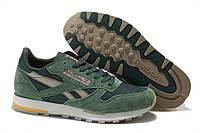 Кросівки чоловічі Reebok Classic Green (в стилі рібок) зелені