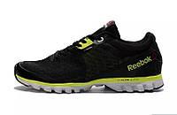 Кросівки чоловічі Reebok Sublite Hexaffect Black Green (в стилі рібок) чорні