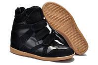 Кроссовки женские Isabel Marant (сникерсы) черные
