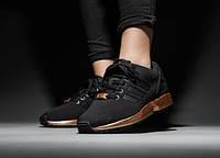 Кроссовки женские Adidas  ZX Flux Light Copper Metallic (в стиле адидас), фото 1