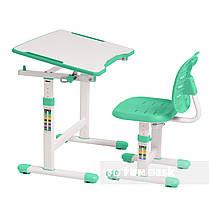 Комплект парта + стул трансформеры Omino Green FunDesk, фото 3