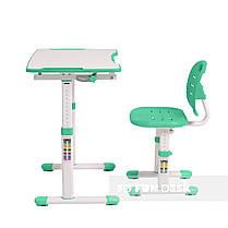 Комплект парта + стілець трансформери Omino Green FunDesk, фото 3