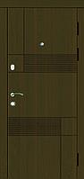 Двері вхідні SARMAK  MODERN Емма/Молоток/Дуб бронза