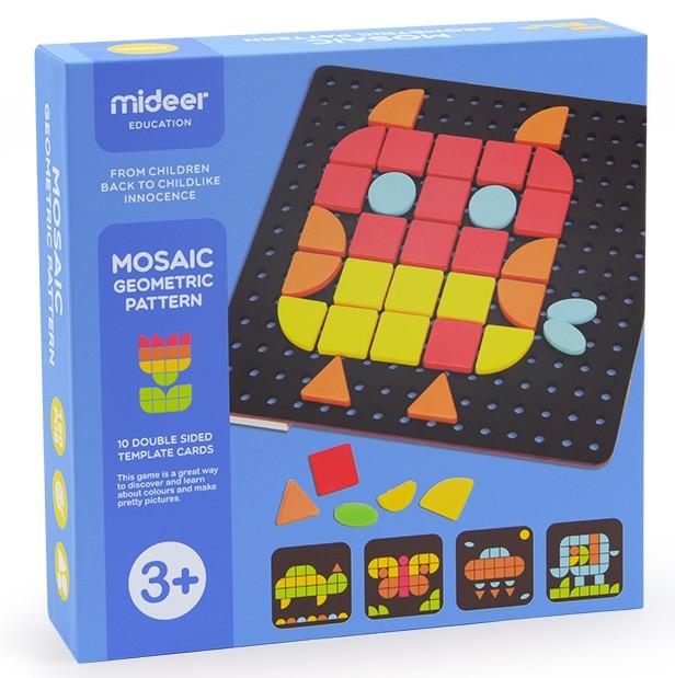 Мозаика Геометрические фигуры Mideer (MD1044)
