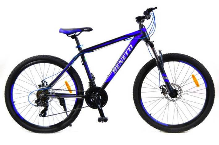 "Велосипед горный 26"" Benetti Vento DD серо-синий 15"" 2020, фото 2"
