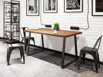 Стол обеденный Бинго оверлайт 75х120 Металл-дизайн