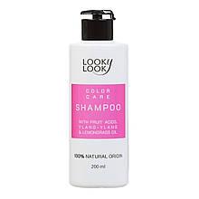 Шампунь для фарбованого волосся з фрпуктовими кислотами ТМ Looky Look