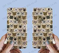 """Защитная панель """"Котики"""" для Iphone 5/5s 6 Пластиковый чехол для айфон Оригинальные панели для Apple iPhone"""