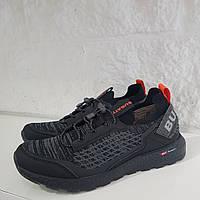 Кросівки чоловічі BUGATTI чорні 45