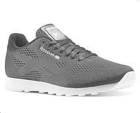 Кросівки чоловічі Reebok CL Engineered Mesh Grey (в стилі рібок) сірі