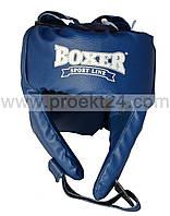 Детский шлем боксёрский L Кожвинил