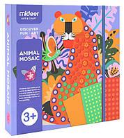 Мозаика-аппликация Животные Mideer (MD4053), фото 1