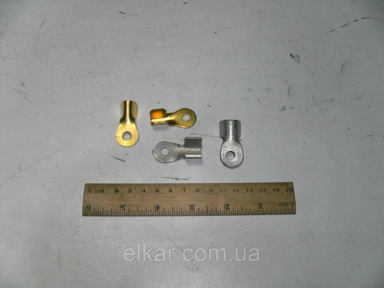 Наконечник стартерний латунний D = 6 мм (S=1.0 мм) (Україна)