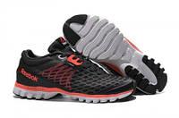 Кросівки чоловічі Reebok Sublite Super Duo Black Red (в стилі рібок) чорні