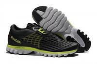 Кросівки чоловічі Reebok Sublite Super Duo Black Green (рібок) чорні
