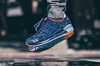 Кросівки чоловічі Asics Gel Lyte III Foot Locker Pensole Reflect (в стилі азикс) сині