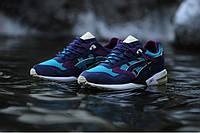 Кросівки чоловічі ASICS Gel Saga Blue (в стилі азикс) сині