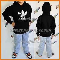 Детский костюм Адидас | Спортивный костюм толстовка + штаны на флисе