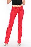 Джинсы женские OMAT jeans 9602 красные, фото 2