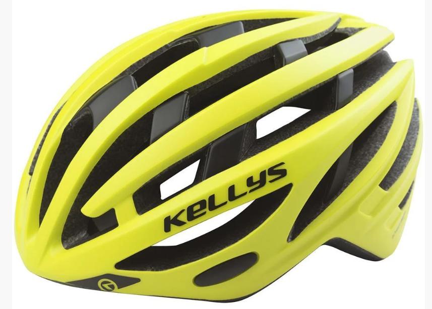 Шлем велосипедный KLS SPURT S-M Neon Yellow