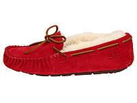 Женские  UGG Dakota Slipper Red женские угги австралия мокасины зимние, фото 1