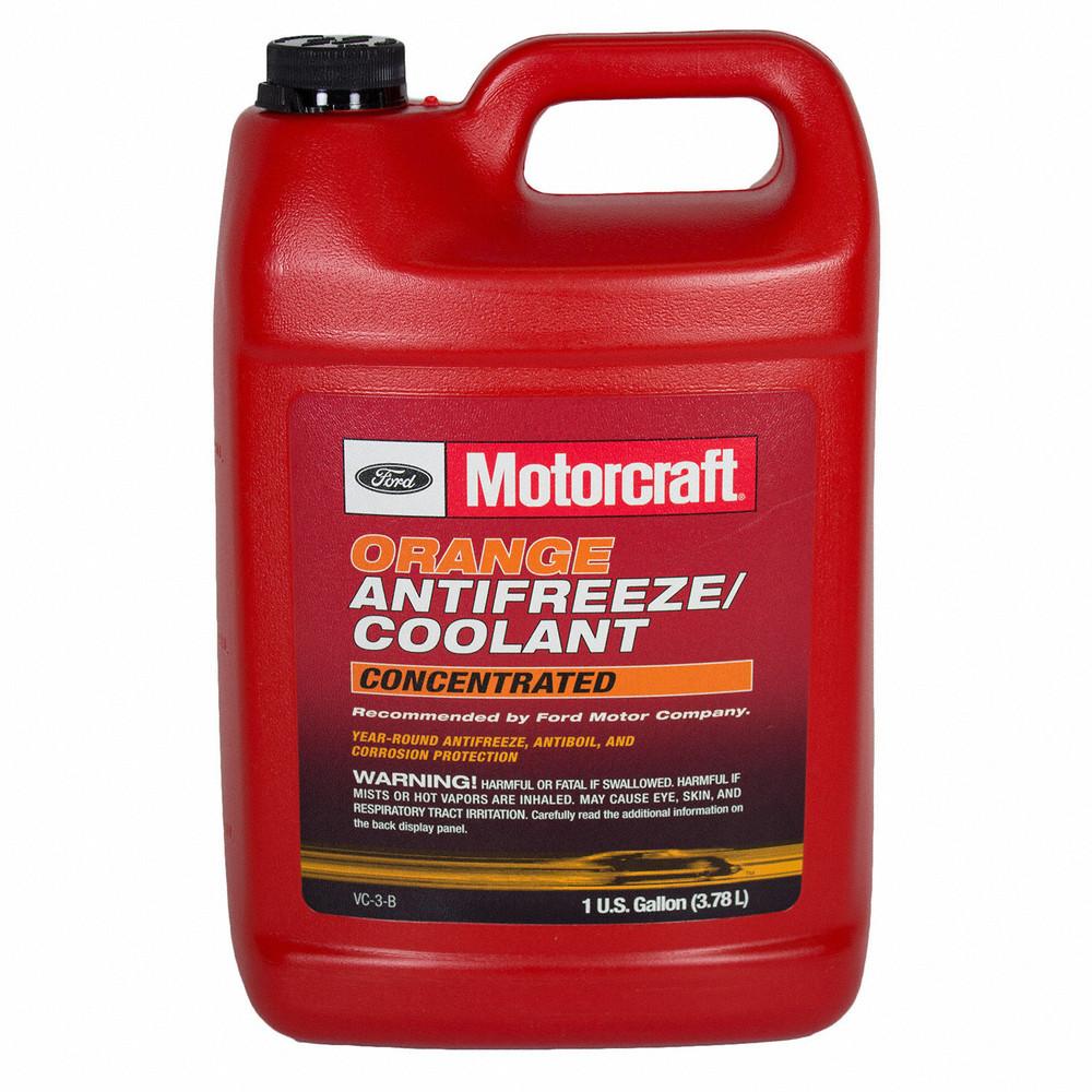 "Антифриз концентрат Motorcraft ""Concentrated Antifreeze/Coolant"", оранжевый 3.78 л FORD VC3B Ford Lincoln"