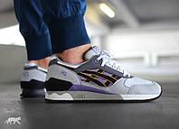Кросівки чоловічі Asics Gel Respector OG Aster Purple (в стилі азикс) сірі