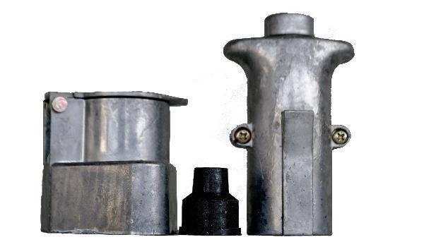 Разъем для прицепа папа / мама (металл) TL-711 (12v), фото 2