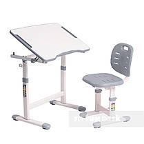 Комплект парта + стул трансформеры Omino Grey FunDesk, фото 3
