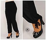 Літні жіночі штани великого розміру разів.52.54.56.58.60.62, фото 2