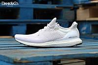Кроссовки женские Adidas Ultra Boost White (в стиле адидас)