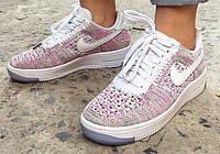 Кроссовки женские Nike Air Force Low (в стиле найк форс) белые