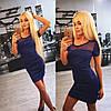 Женское красивое платье с сеткой (2 цвета)