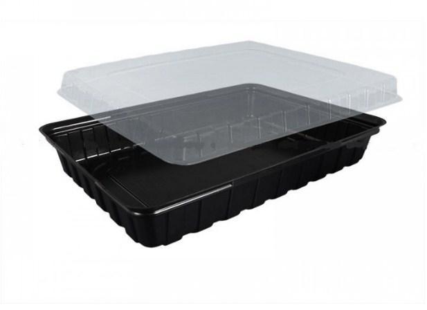 Пластиковая упаковка для суши ПС-61