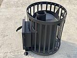 Печь для бани Канада Бочка 20 м³ без выноса, фото 3