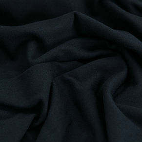 Трикотажное полотно Стрейч кулир, 40/1 Пенье, цвет - темно синий, в наличии, купить в Украине, фото 3