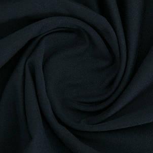 Трикотажное полотно Стрейч кулир, 40/1 Пенье, цвет - темно синий, в наличии, купить в Украине, фото 2