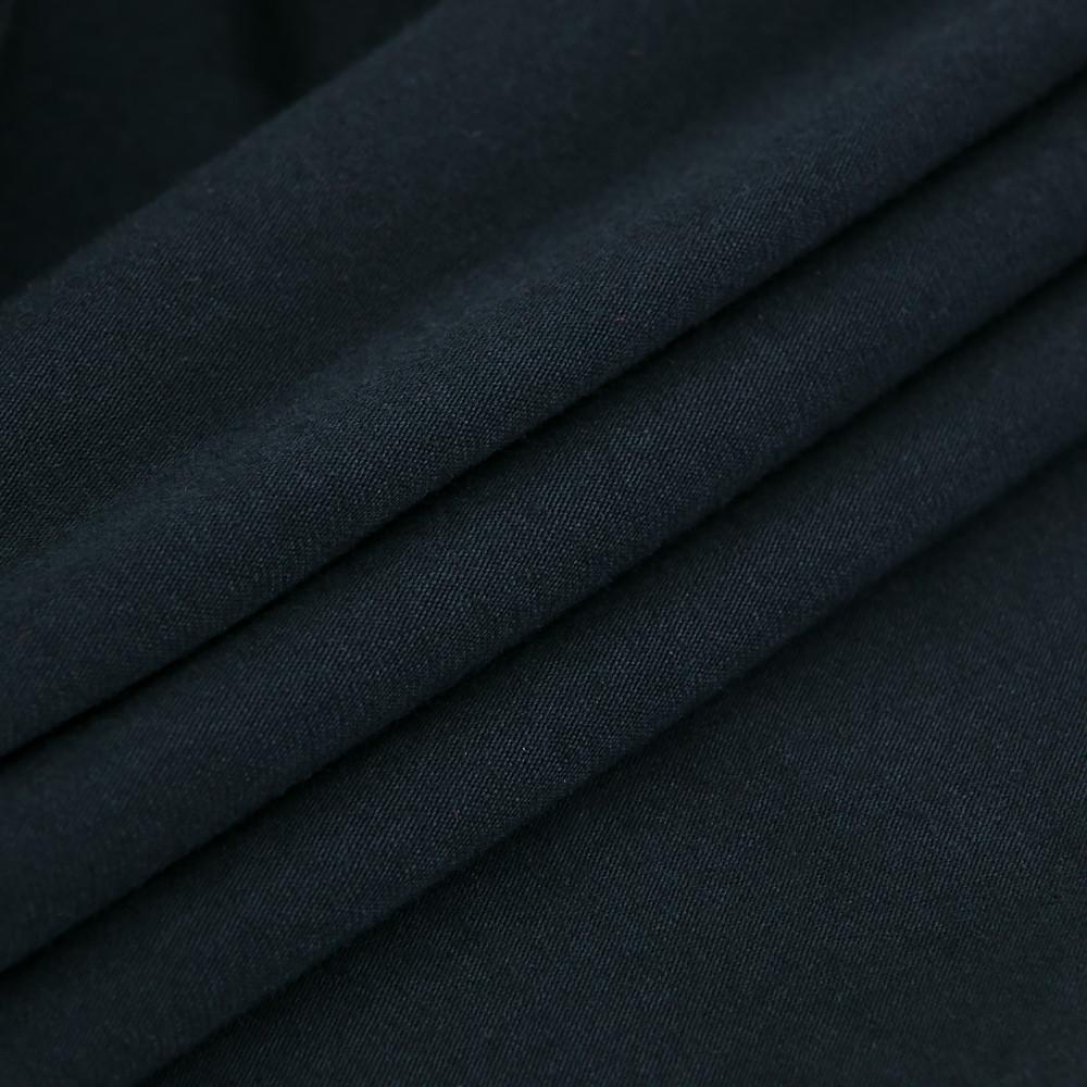 Трикотажное полотно Стрейч кулир, 40/1 Пенье, цвет - темно синий, в наличии, купить в Украине