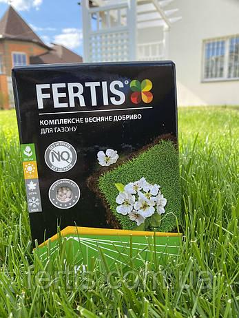 Весняне добриво для газону Fertis, без хлору та нітратів, 1 кг, фото 2
