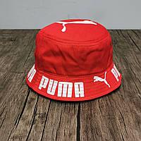 Панама мужская лето Puma красная.. Реплика. Много других брендов. В 5х цветах, фото 1