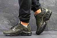 Кроссовки мужские темно зеленые Air Max Tn 5924