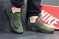 Кроссовки мужские темно зеленые Nike Air Presto 4891