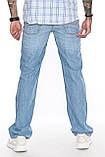 Мужские джинсы Franco Benussi 1208-513 синие, фото 8
