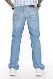 Мужские джинсы Franco Benussi 1208-513 синие, фото 3