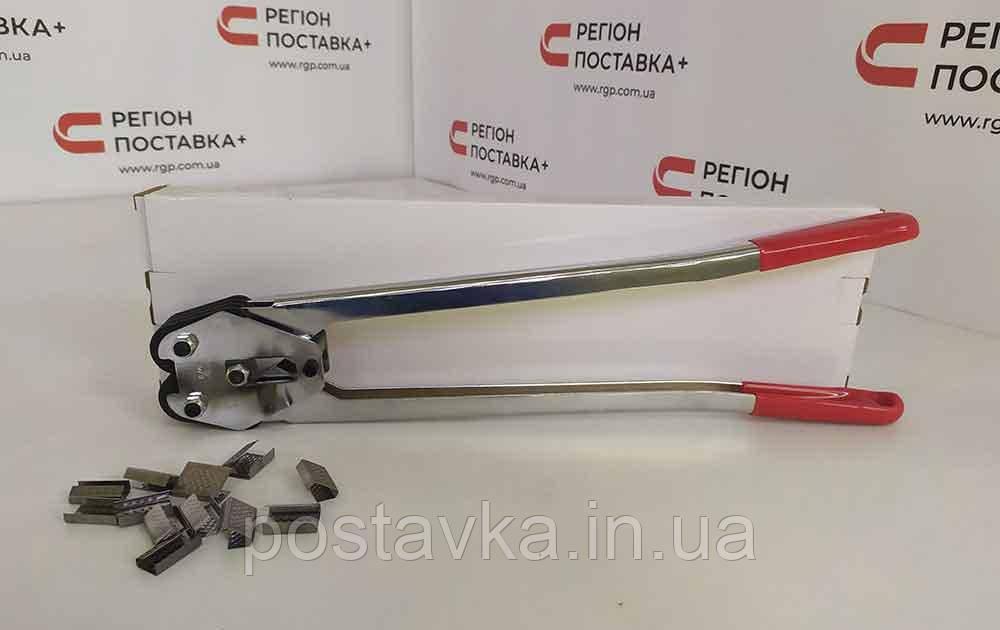 Кліщі для поліпропіленової стрічки 12-19 мм J-19