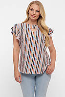Блуза женская Алина диагональ